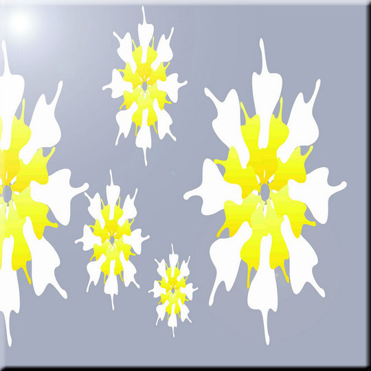 8 x 8 Rikki Knight Grey Bubbles Design Ceramic Art Tile