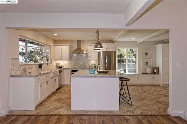 Mid Century kitchen renovation, Oakland Hills