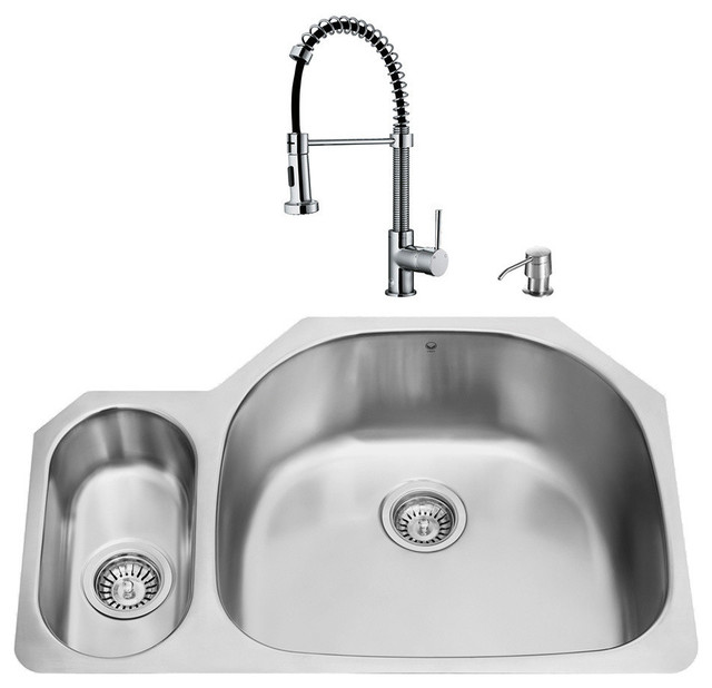 Faucets For Undermount Kitchen Sinks : all products kitchen kitchen fixtures kitchen sinks