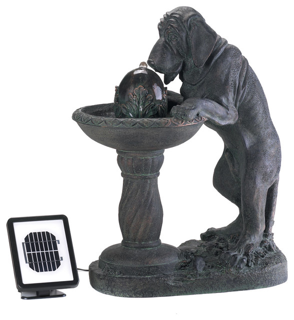 Ordinaire Thirsty Dog Solar Water Fountain