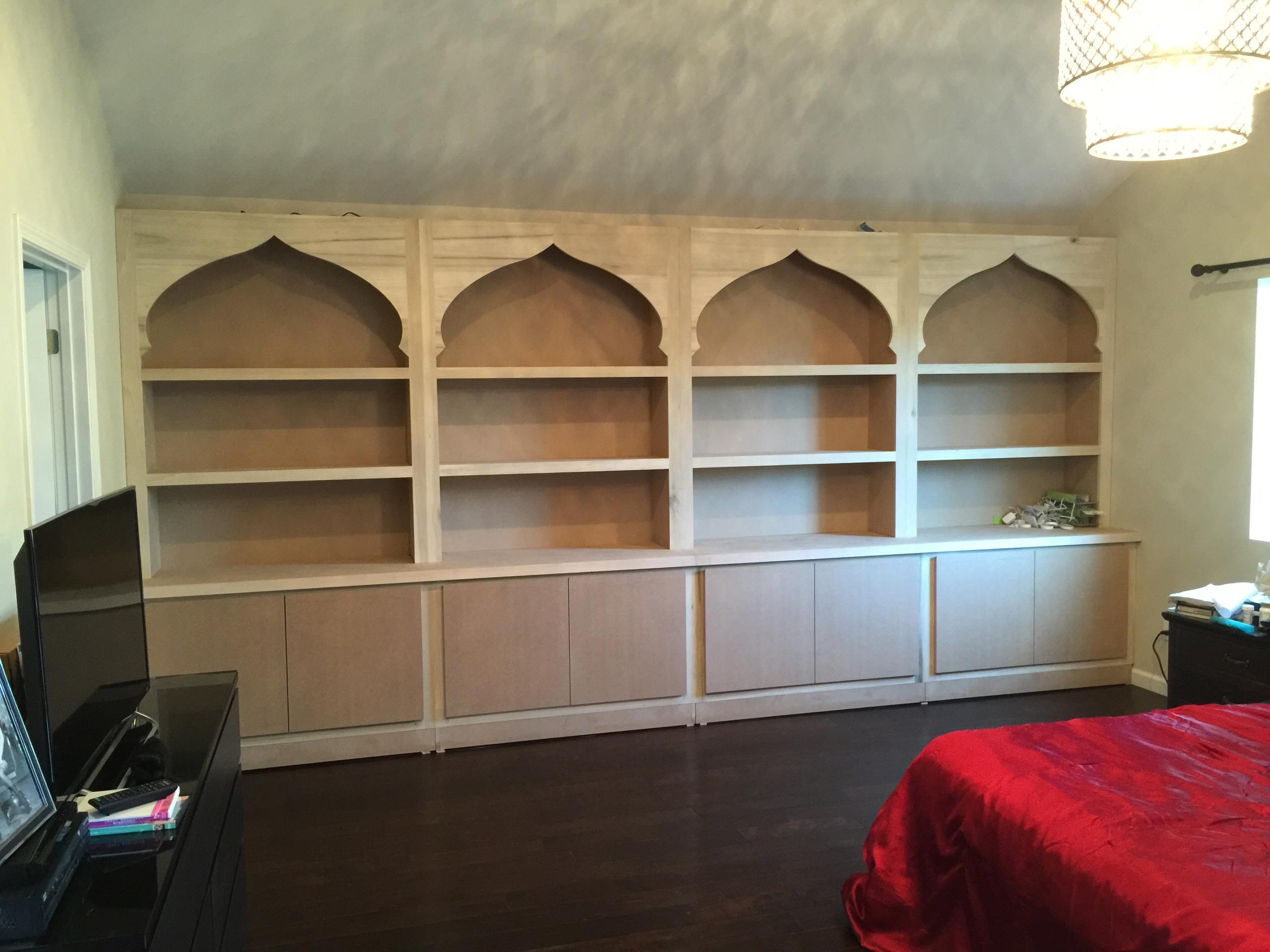 Encino Master Bedroom Storage