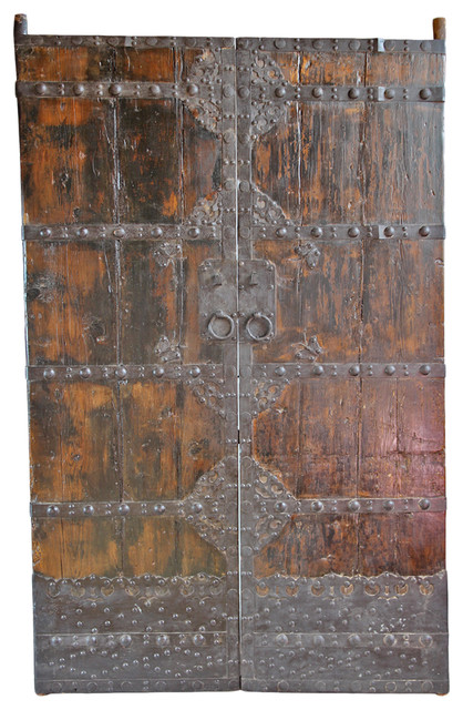 Consigned Chinese Old Wood Door.