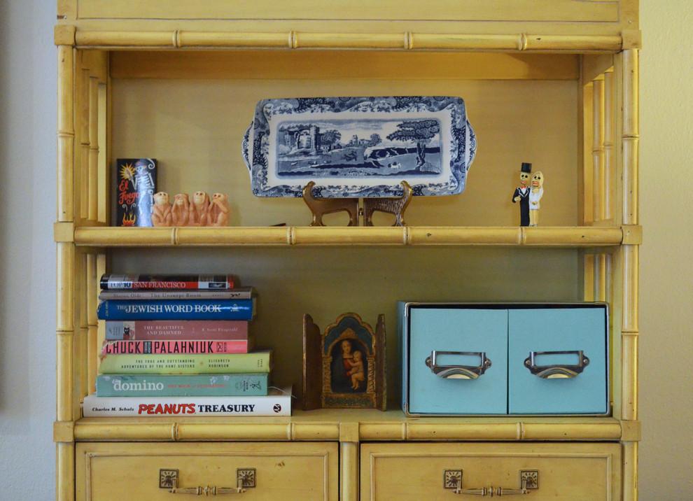 Home design - eclectic home design idea in Dallas