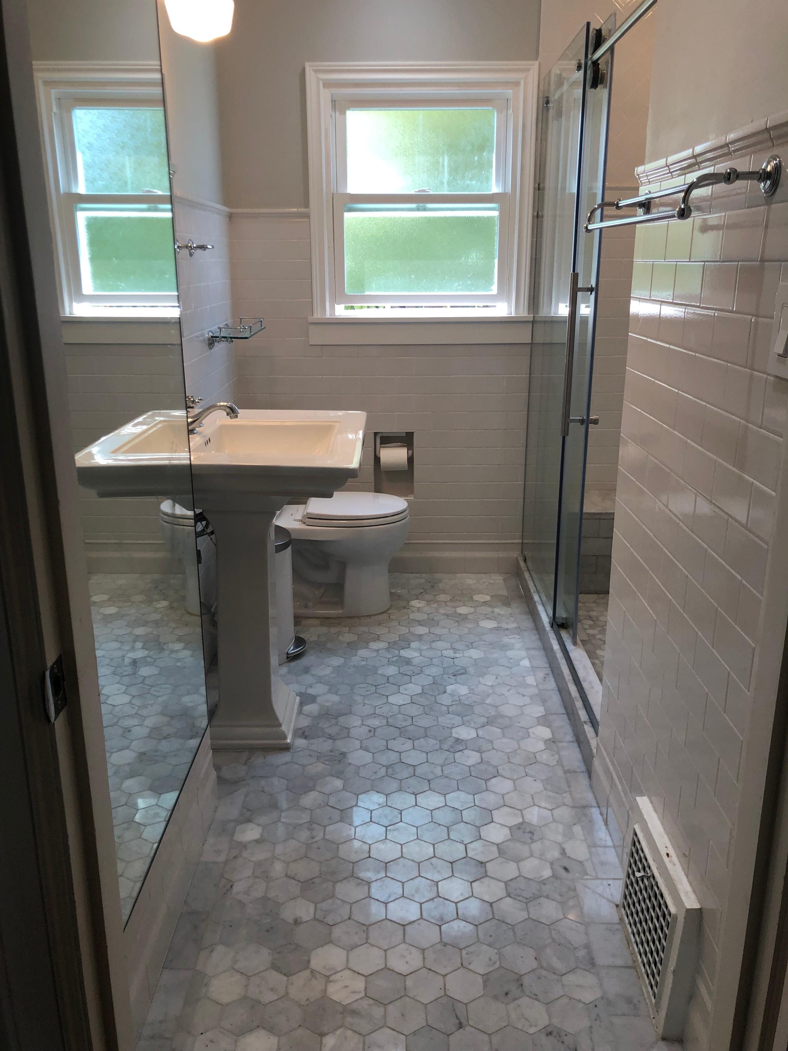 Berkeley Bathroom Renovation, 2017