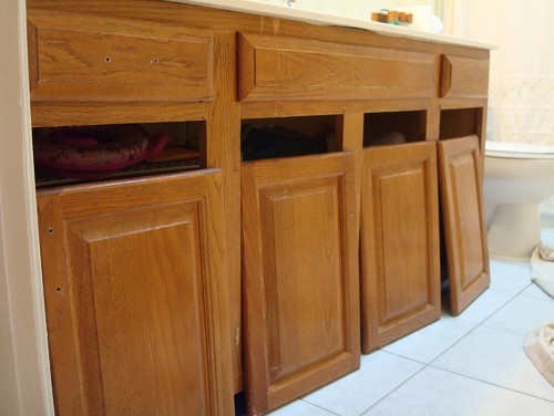 Refinished Cabinets - Before and Afters