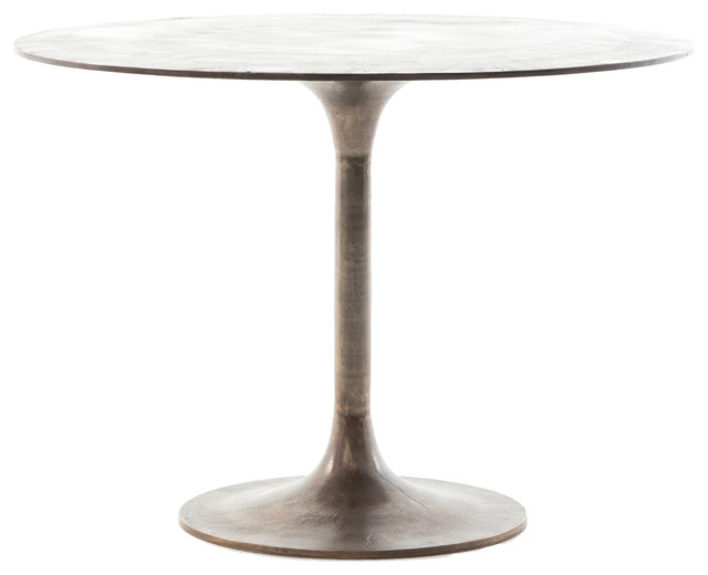 Marlow Simone Bistro Table Midcentury Dining Tables