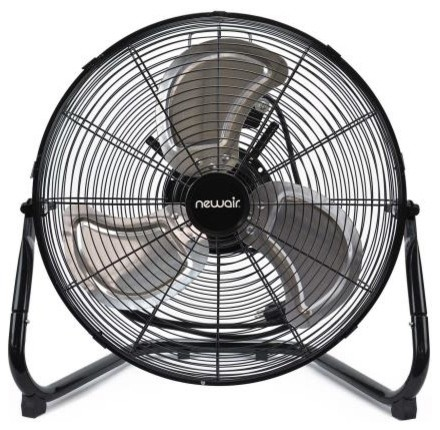 "Newair Windpro18f 18"" High Velocity Portable Floor Fan."