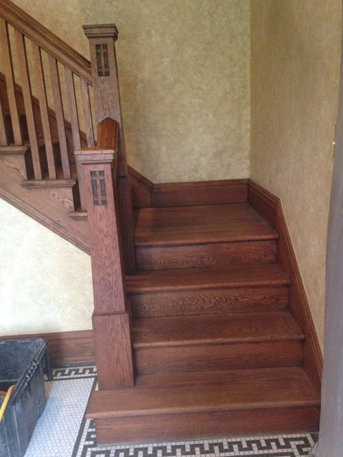 100 Year Old Wood Railing Amp Refinishing Floors Help