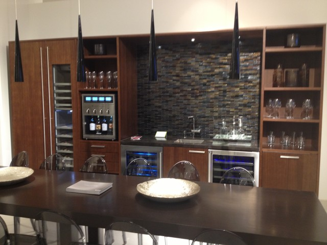 Siematic Cabinetry- Wine Preservation Room contemporary-wine-cellar