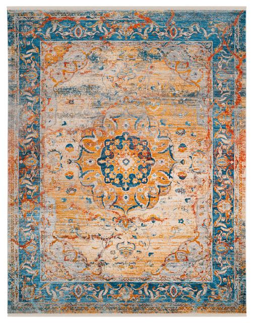 Safavieh Vintage Persian Vtp435b Blue Multi Rug