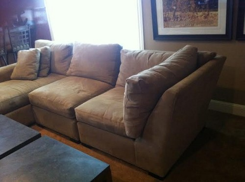 Crate And Barrel Axis Sectional Sofa Review www