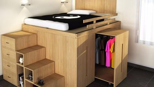 Progettare un letto a soppalco diy - Costruire letto contenitore ...