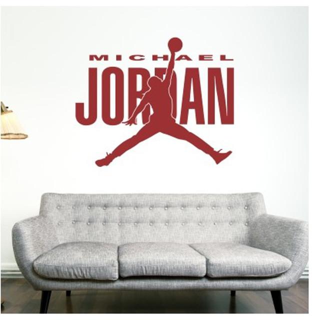 Adesivi Murali Low Cost.Adesivi Murali Michael Jordan Modern Milan By Stickers Murali
