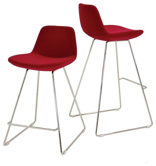 Pera Wire Counter Stools Modern Bar Stools And Counter