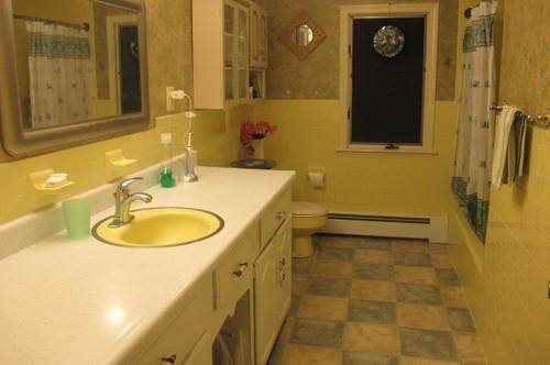 Help My S Bathroom Makeover - 70s bathroom