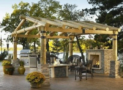 The Montana Pergola Rustic Patio Other By The Deck Store