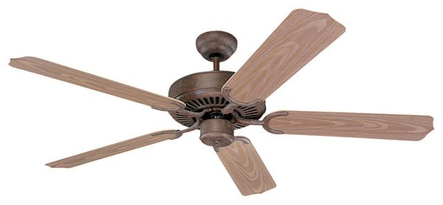 monte carlo 5wf52bk weatherford matte black powder coated fan traditional ceiling fans. Black Bedroom Furniture Sets. Home Design Ideas