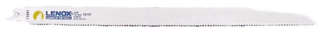 Lenox 20583-110r 5 Count 12 10 To 14 Tpi Multi Purpose Reciprocating Blade.