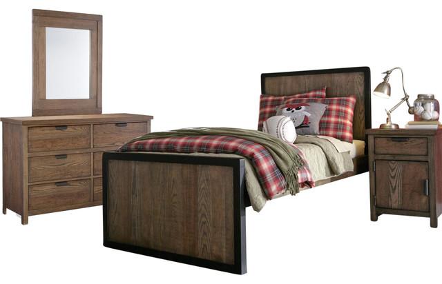 Legacy classic kids fulton county bedroom set industrial - Industrial bedroom furniture sets ...