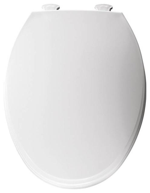 Church 130EC 000 Lift Off Plastic Elongated Toilet Seat Contemporary Toil