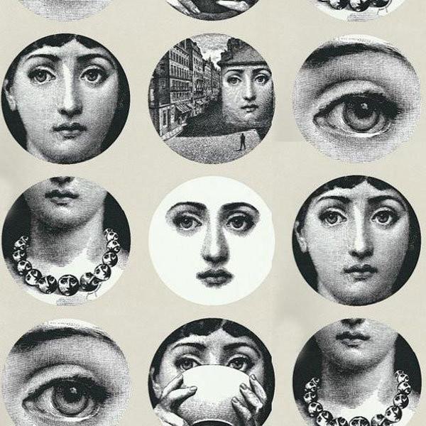 Fornasetti Tema E Variazioni Wallpaper