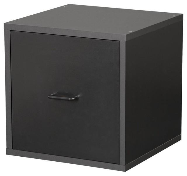 Foremost File Storage Cube (Black) - Storage Cabinets | Houzz