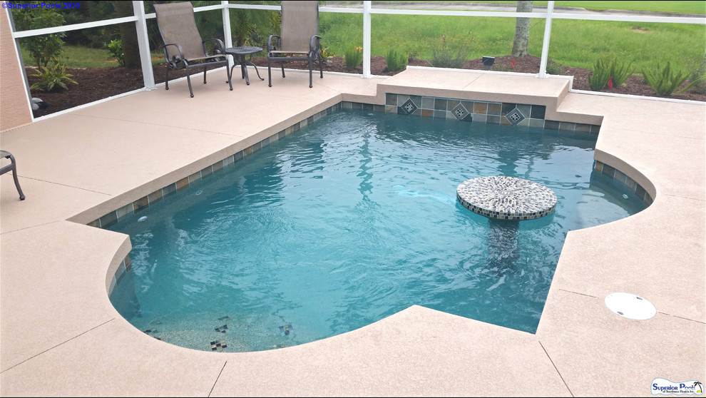Inspiration for a pool remodel in Other