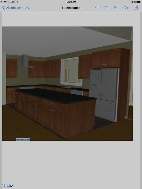 New construction kitchen layout help for Kitchen layout help