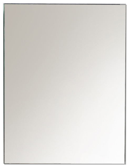"Eviva Lazy 20"" All Mirror Wall Mount/recessed Medicine Cabinet With No Lights."