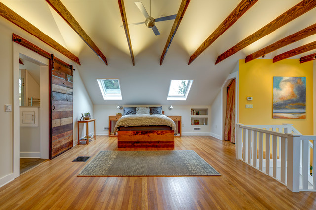 Attic Master Suite Contemporary Portland By Id 7
