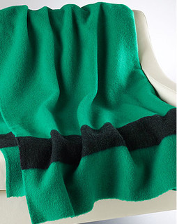 Green Point Blanket traditional bedding