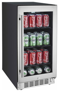 Can Beverage Cooler - Contemporary - Beer And Wine Refrigerators - by Titan Products LLC