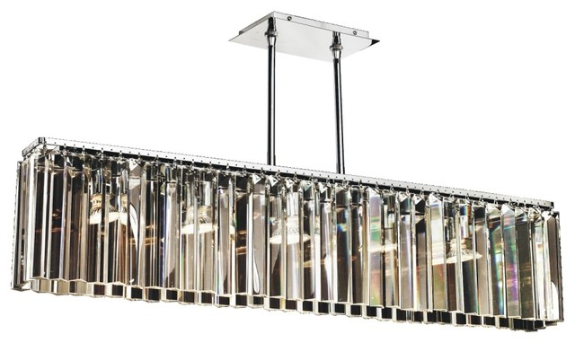 "Chandelier Flush Mount Transitions  621 GLOW, 37""W"