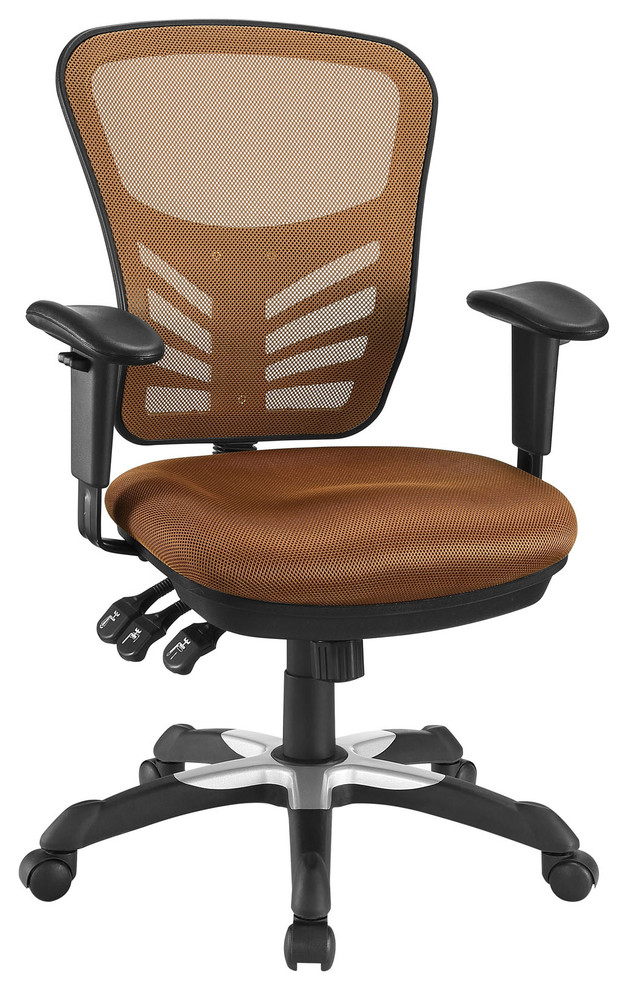 Articulate Mesh Office Chair Contemporary Office Chairs By Decor Savings