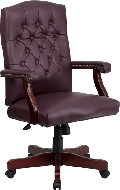 Bonded Leather Office Chair 801l-Lf0019-By-Lea-Gg.