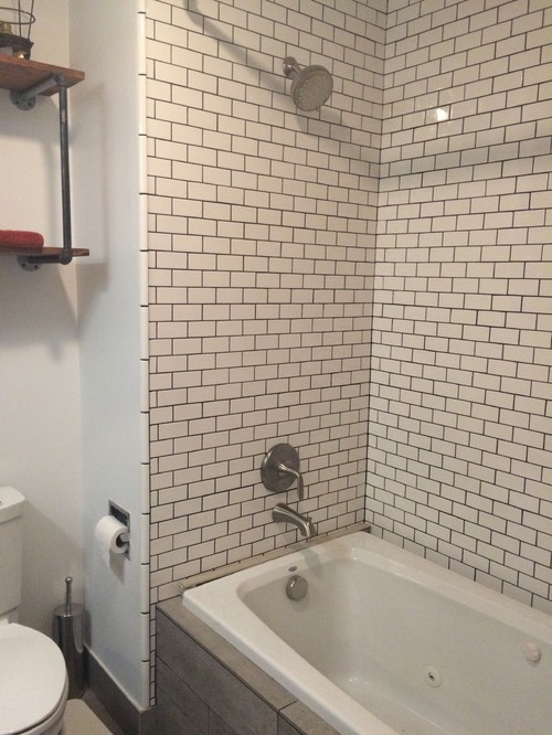 drop in tub with shower combo
