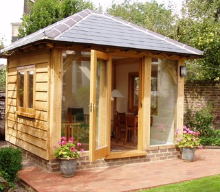 Garden rooms country kent by ilex design build for Garden rooms kent