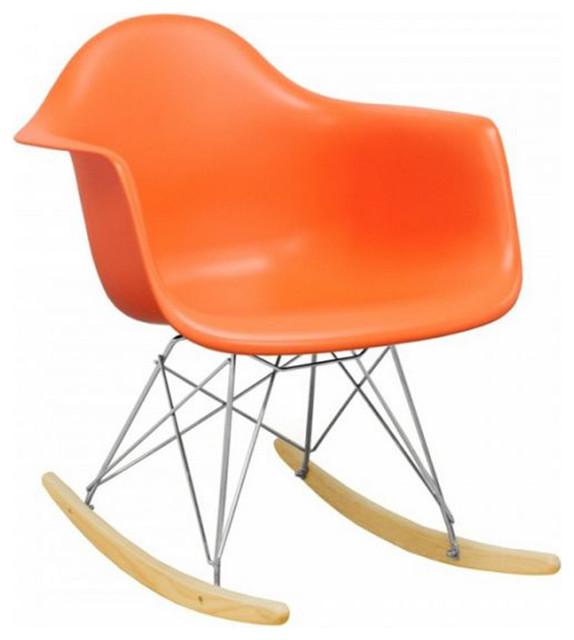 Modern Design Tower Rocker, Orange