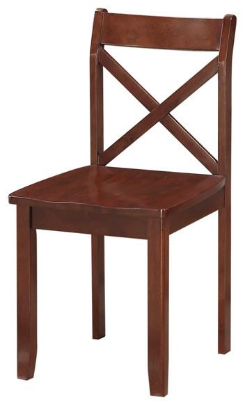 Jamie Dining Chairs, Set Of 2, Cherry.