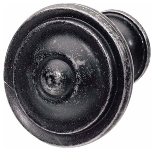 Hafele - Hafele: Knob: Zinc: Black Antique: M4: 36 X 25mm - View in Your Room! | Houzz