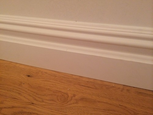 Baseboard trim quarter round yes or no Baseboard height