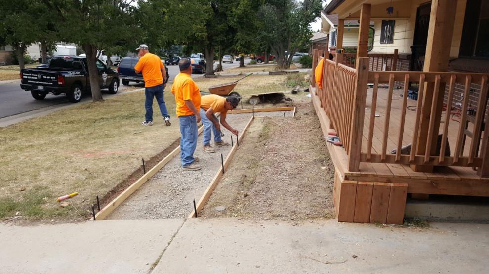 Custom Deck and Railing Project