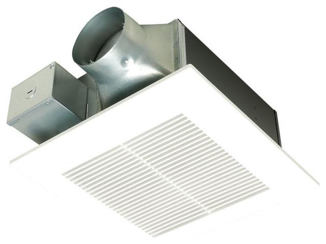 Panasonic Whisperfit 0.6/1.2-Sone 80/110-CFM Bathroom Fan