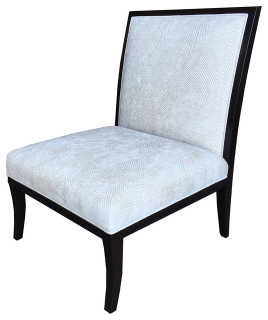 Pleasing Lucca Slipper Chair Kravet Blue Stria Transitional Ocoug Best Dining Table And Chair Ideas Images Ocougorg