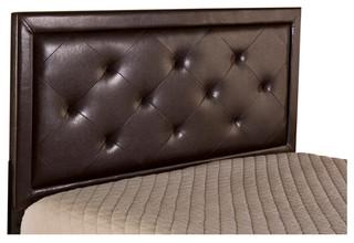 Becker Headboard, Queen, Brown Faux Leather