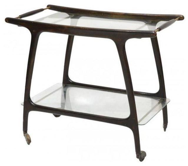 sold out mid century modern italian bar cart 2 250 est retail 1 500 on c. Black Bedroom Furniture Sets. Home Design Ideas