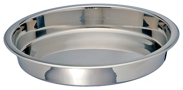 "Stainless Steel Round Cake Pan, 9""."