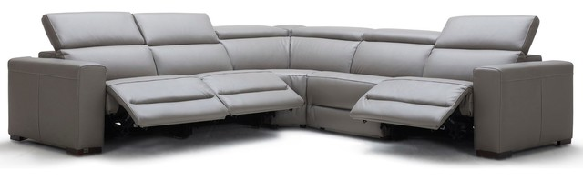 Modern Mirage Reclining Sectional With