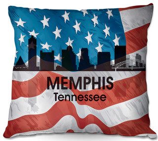 Dianoche Throw Pillows By Angelina Vick City Vi Memphis