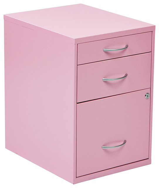 """Osp Designs 22"""" Pencil, Box, Storage File Cabinet - Contemporary - Filing Cabinets - by ..."""